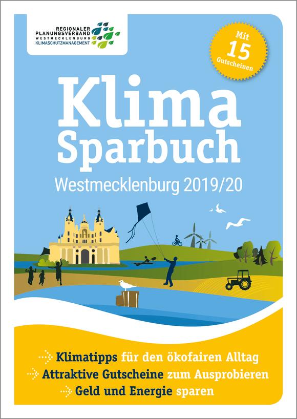 Cover: Klimasparbuch Westmecklenburg 2019/20