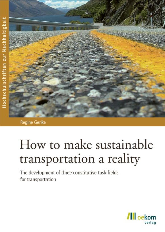 Cover: How to make sustainable transportation a reality