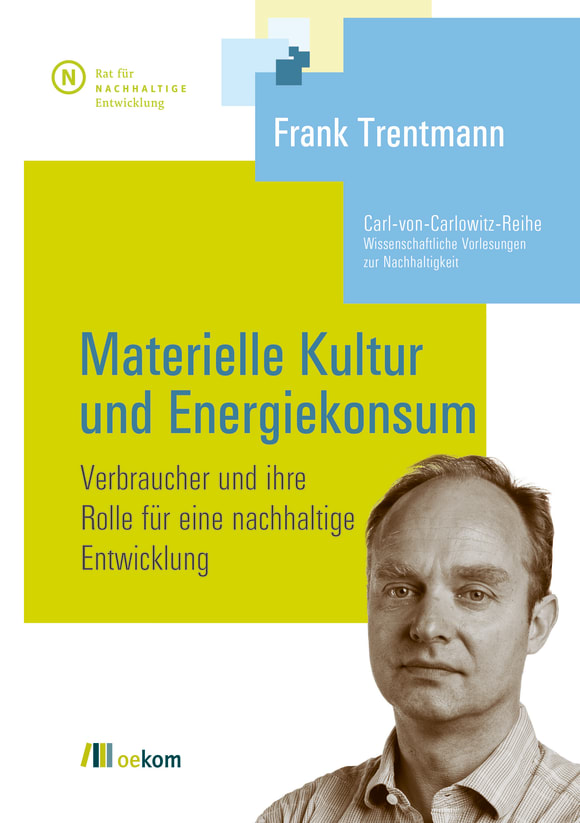 Cover: Materielle Kultur und Energiekonsum