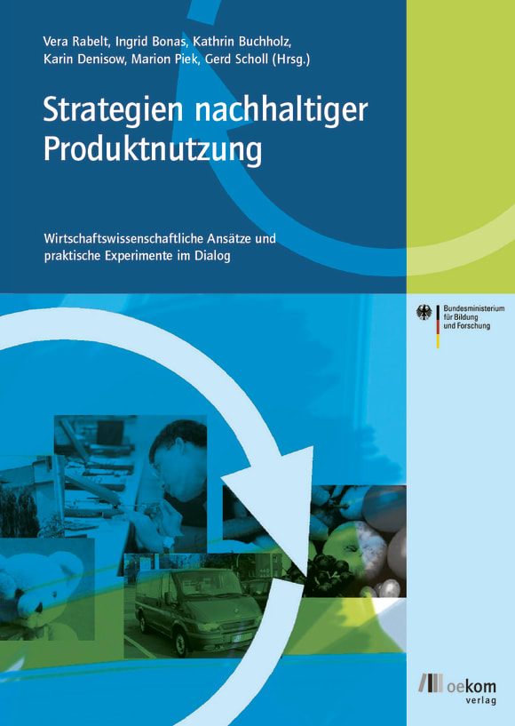Cover: Strategien nachhaltiger Produktnutzung