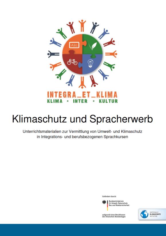 Cover: Klimaschutz und Spracherwerb