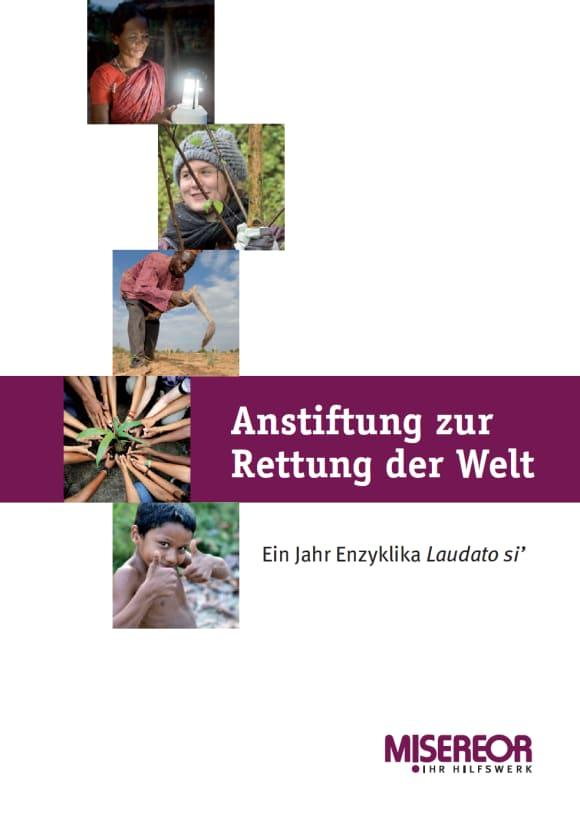Cover: Anstiftung zur Rettung der Welt