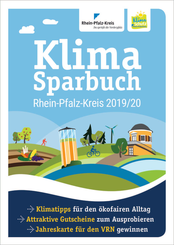 Cover: Klimasparbuch Rhein-Pfalz-Kreis 2019/20