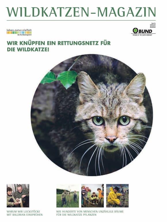Cover: Wildkatzen-Magazin