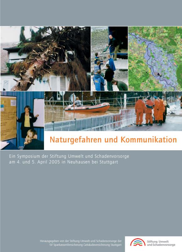 Cover: Naturgefahren und Kommunikation