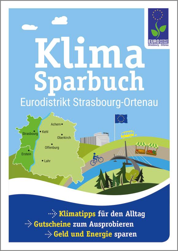 Cover: Klimasparbuch Eurodistrikt Strasbourg-Ortenau