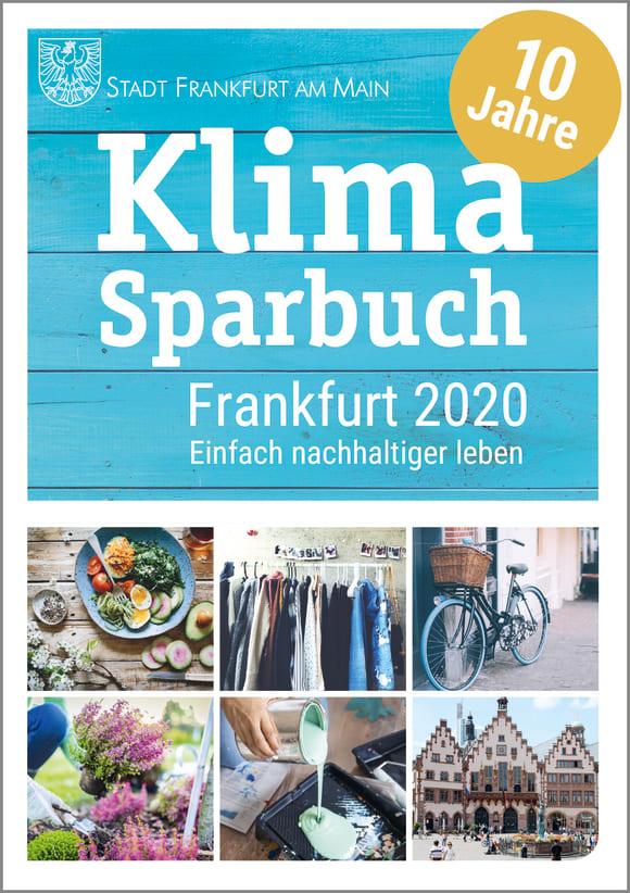Cover: Klimasparbuch Frankfurt 2020