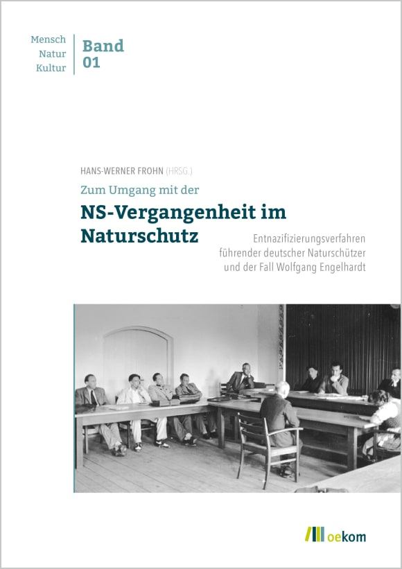 Cover: Zum Umgang mit der NS-Vergangenheit im Naturschutz