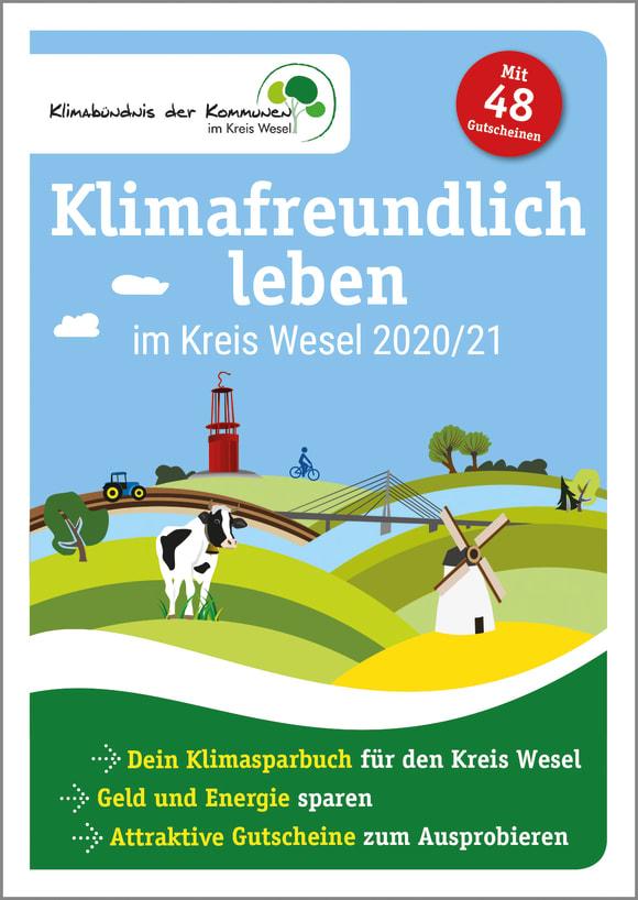 Cover: Klimafreundlich leben im Kreis Wesel 2020/21