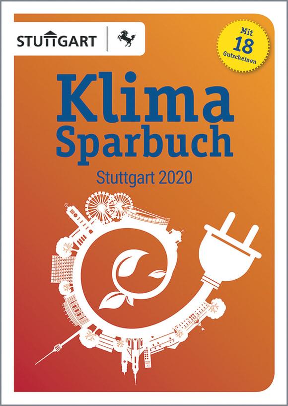 Cover: Klimasparbuch Stuttgart 2020