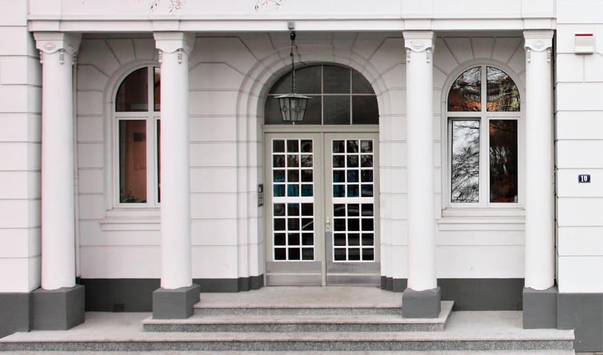 Behr's Verlag Eingang
