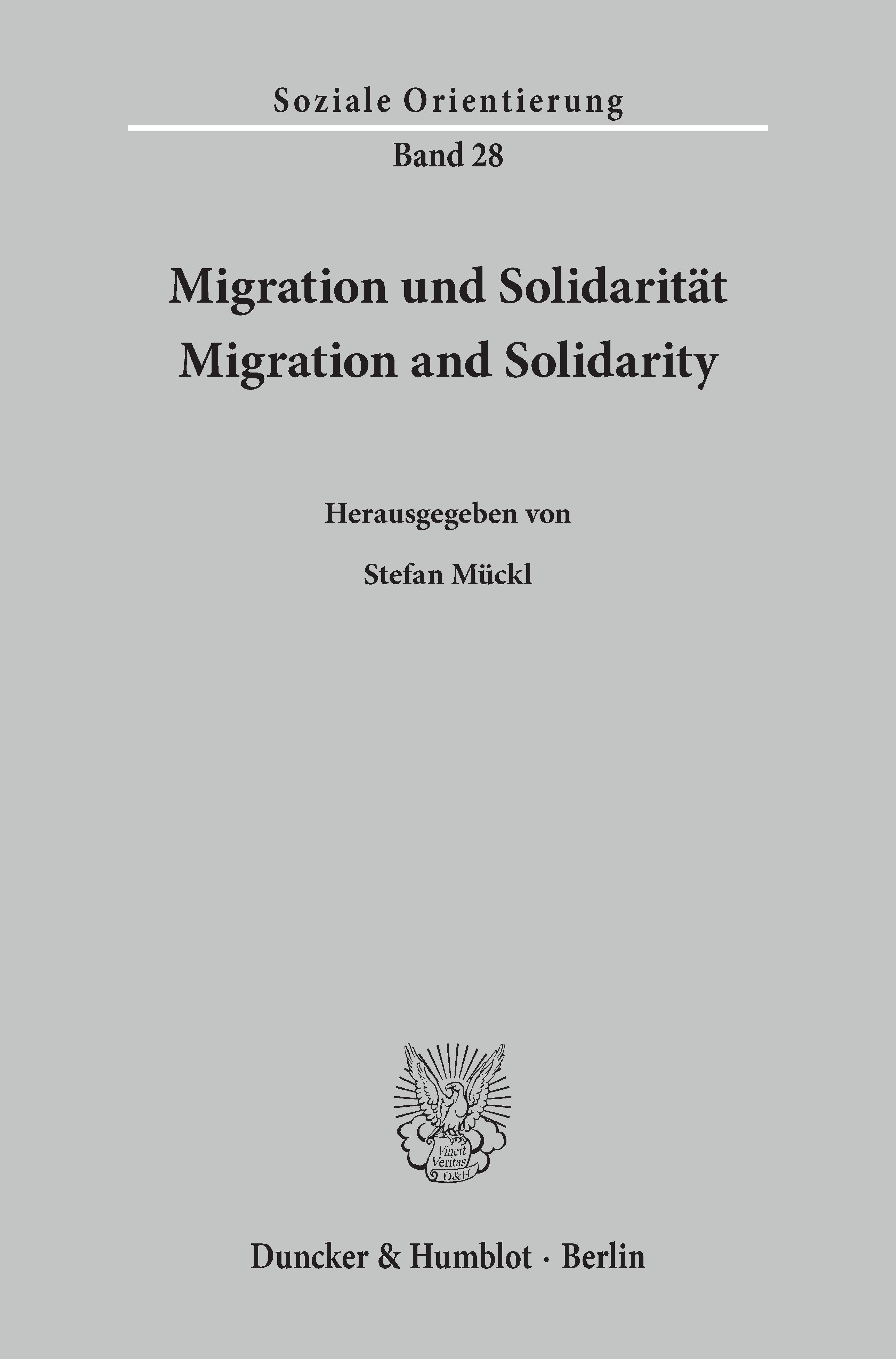 Migration und Solidarität / Migration and Solidarity