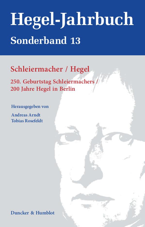 Sonderband des Hegel-Jahrbuchs