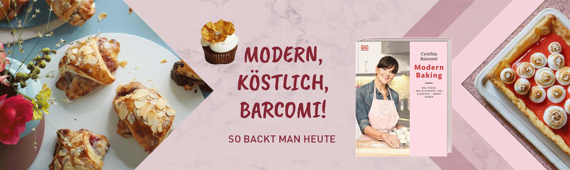 Modern Baking - Barcomi
