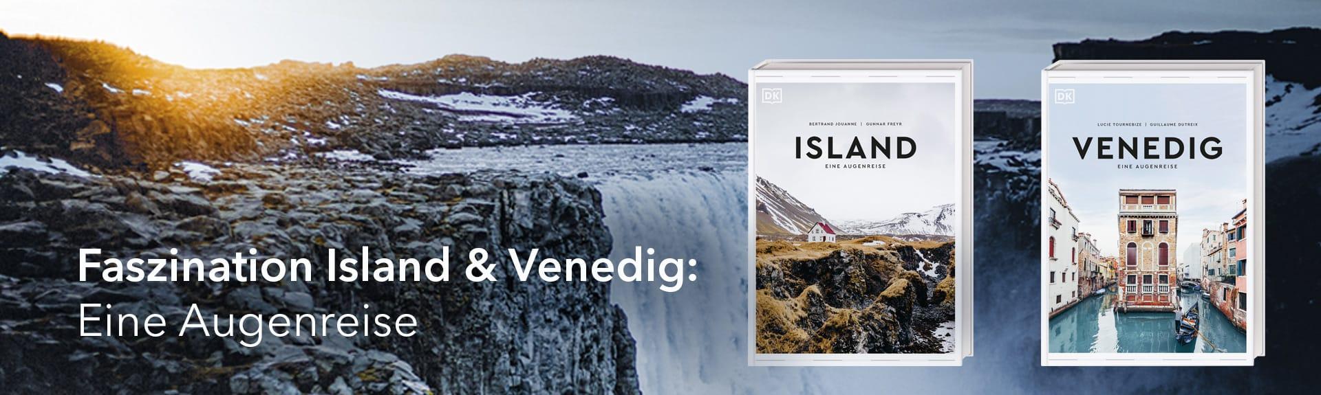 Island + Venedig. Eine Augenreise