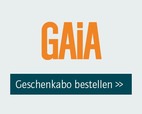 Gaia Geschenkabo bestellen