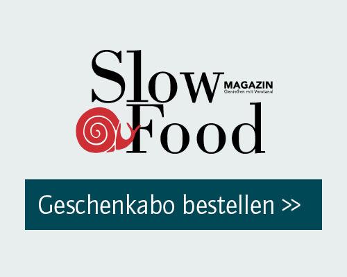 Slow Food Magazin Geschenkabo bestellen