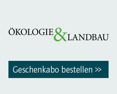 Ökologie & Landbau Geschenkabo bestellen