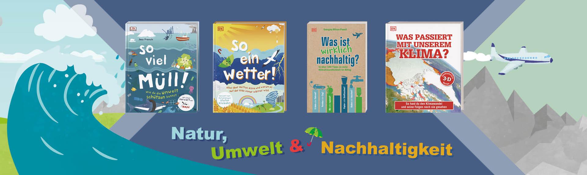 Bücher zum Thema Natur, Umwelt und Nachhaltigkeit