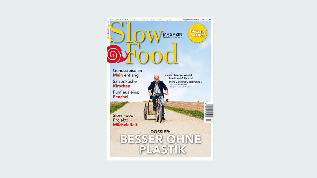 Cover Slow Food Magazin Ausgabe 03/2019