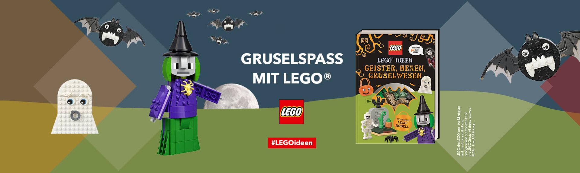 LEGO Ideen Geister, Hexen, Gruselwesen