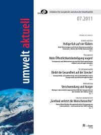umwelt aktuell 07-2011