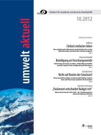 umwelt aktuell 10-2012