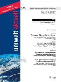 umwelt aktuell 08-2017