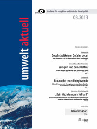umwelt aktuell 03-2013