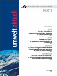 umwelt aktuell 06-2013