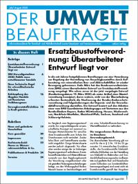 Der Umweltbeauftragte 07-08-2020