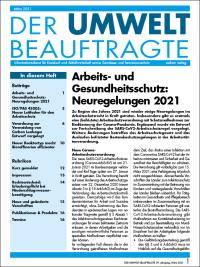 Der Umweltbeauftragte 03-2021