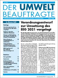 Der Umweltbeauftragte 07-2021