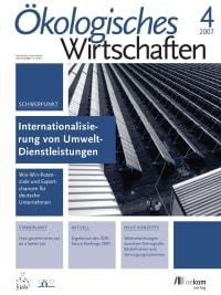 Internationalisierung von Umweltdienstleistungen