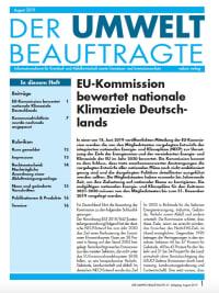 Der Umweltbeauftragte 08-2019