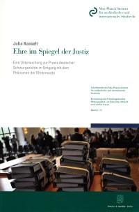 Cover Ehre im Spiegel der Justiz