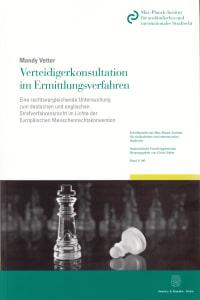 Cover Verteidigerkonsultation im Ermittlungsverfahren