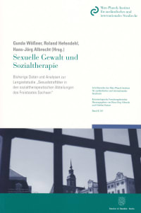 Cover Sexuelle Gewalt und Sozialtherapie