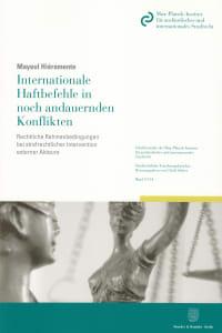 Cover Internationale Haftbefehle in noch andauernden Konflikten