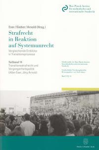 Cover Transitionsstrafrecht und Vergangenheitspolitik