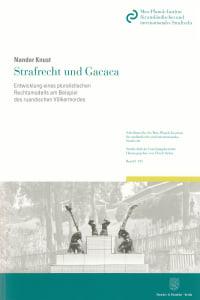 Cover Strafrecht und Gacaca