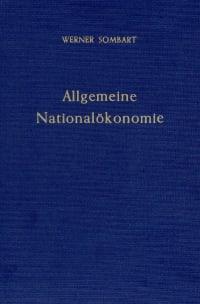 Cover Allgemeine Nationalökonomie