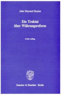 Cover Ein Traktat über Währungsreform