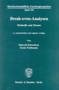 Cover Break-even-Analysen