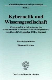 Cover Kybernetik und Wissensgesellschaft