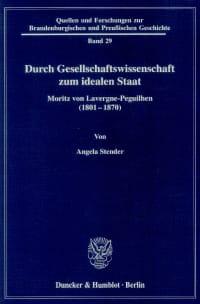 Cover Durch Gesellschaftswissenschaft zum idealen Staat