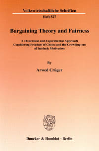 Cover Bargaining Theory and Fairness