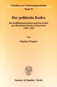 Cover Der politische Kodex