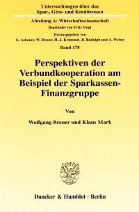 Cover Perspektiven der Verbundkooperation am Beispiel der Sparkassen-Finanzgruppe