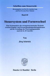 Cover Steuersystem und Formwechsel